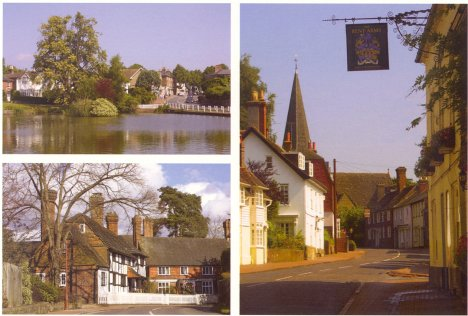 Scenes in Lindfield: West Sussex