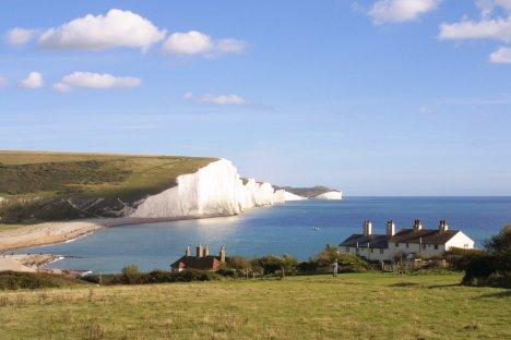 The Seven Sisters & Coastguard Cottages