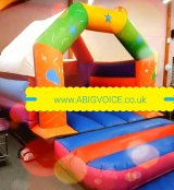 15 x 11 FT castle suitable indoor & outdoor for 10yrs and under
