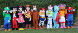 Character Mascot Appearances by kids favourite Look-a-likes