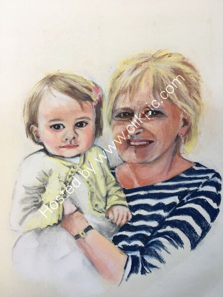 A dear friend and her granddaughter