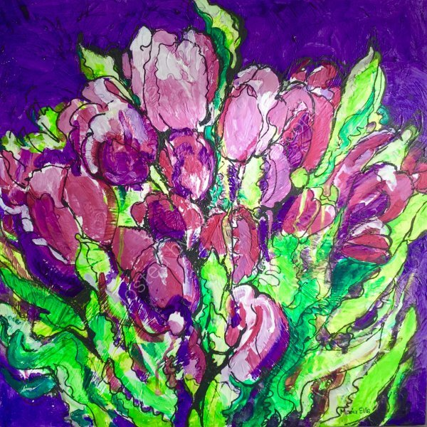 'Bunch of Tulips'