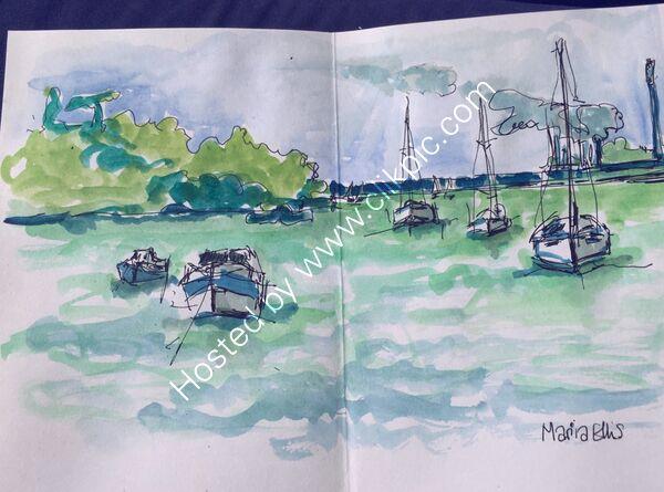 Anchored off Osbourne Bay