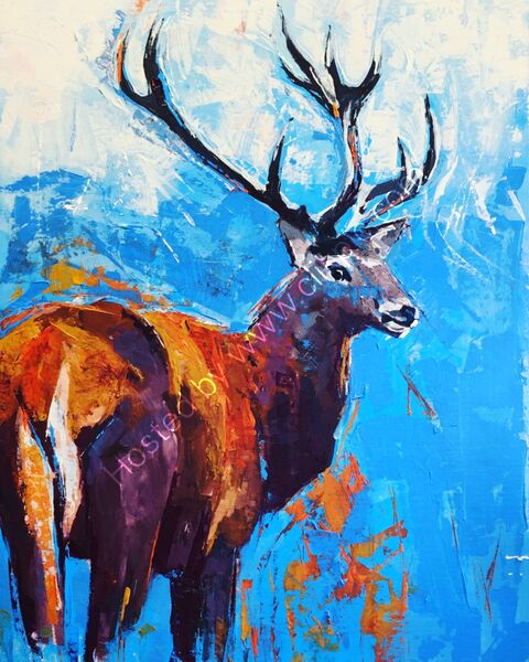 'A Stag'