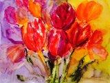 Bright Tulips - SOLD
