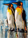 SOLD - 'PPP Penguins' by A2 Gallery, Wells