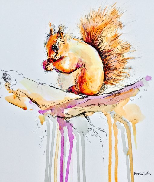 Squirrel - SOLD