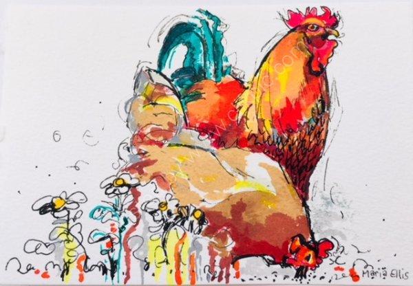 Pecking Order - SOLD