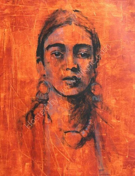 'Frida Khalo' - SOLD