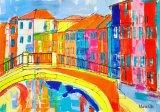 'Over the bridge at Burano'