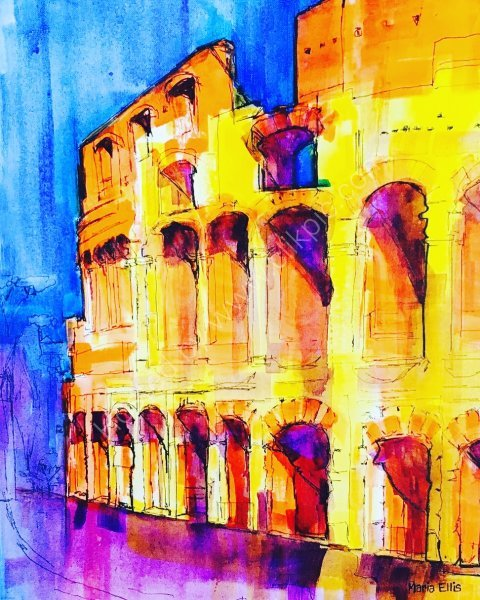 'The Coliseum in Rome'