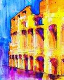 'The Coliseum in Rome'