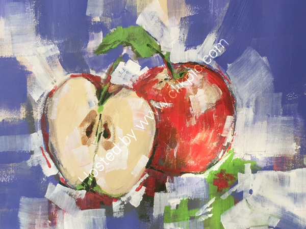 An apple a day... - Sold