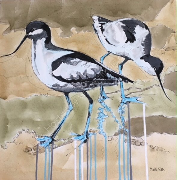 'Avocets' SOLD