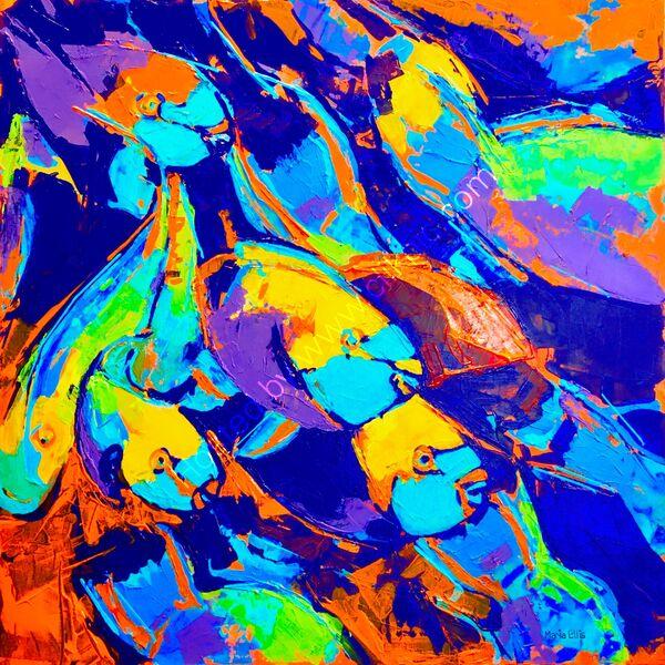 'Parrot fish pandemonium'