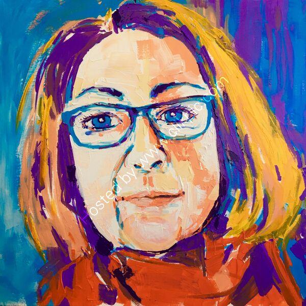Maria Ellis - self portrait