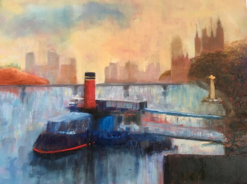 Steam on the Thames