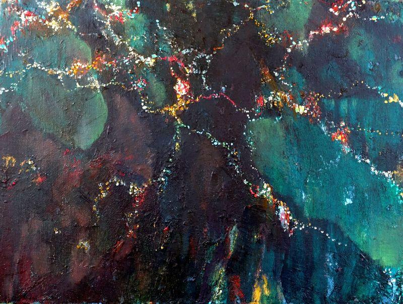 Homeland. Oil on canvas. 45x35cm