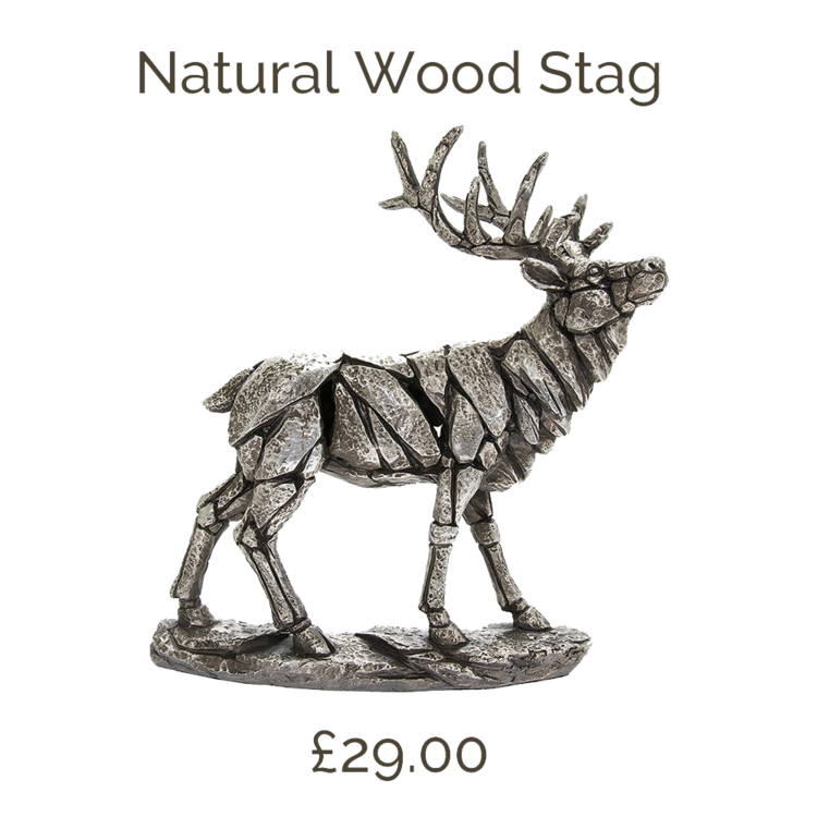 Natural Wood Stag