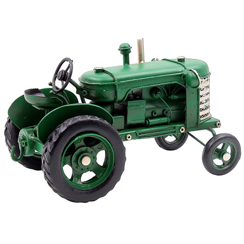 Vintage Tractor Green