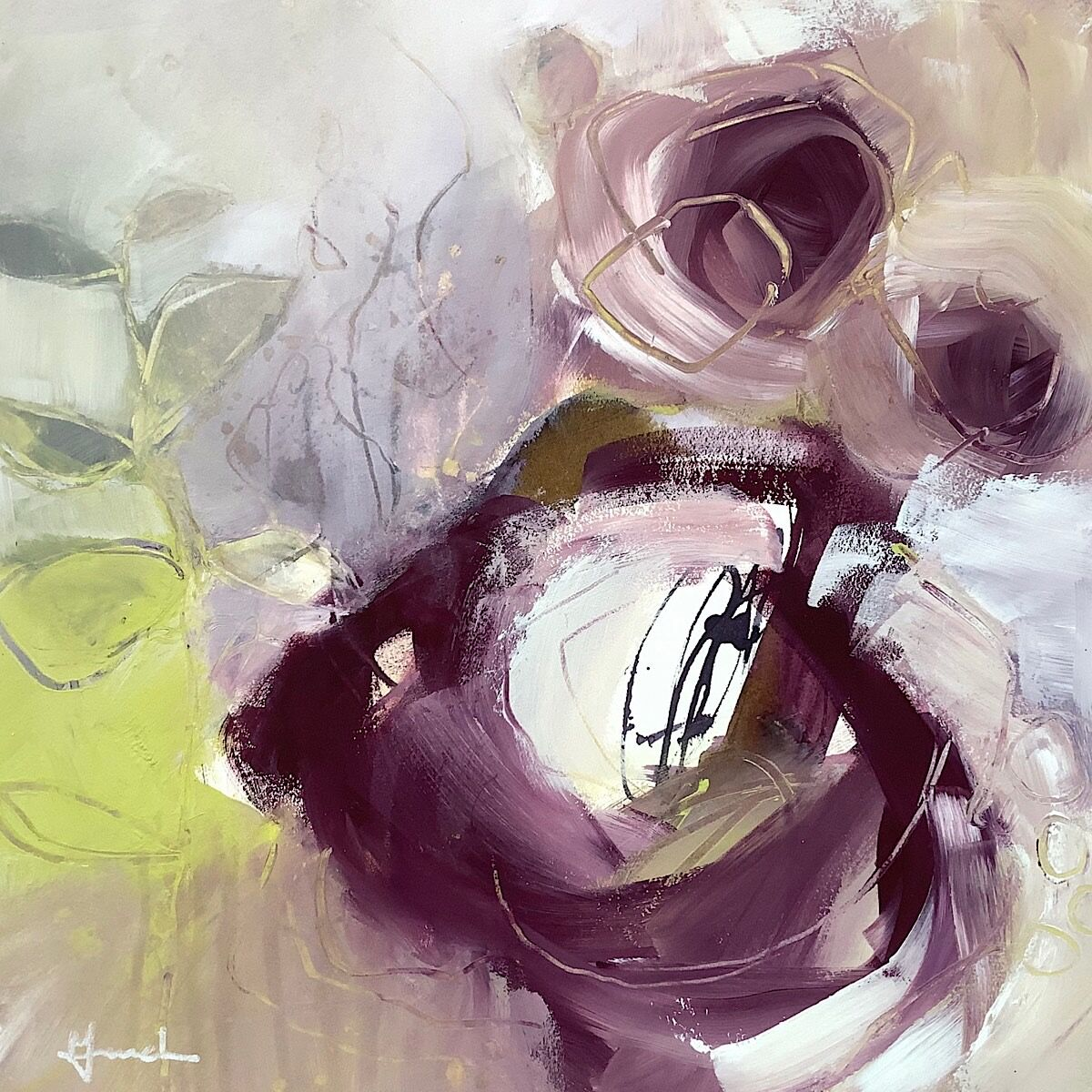 Abstract-flower-painting-for-sale
