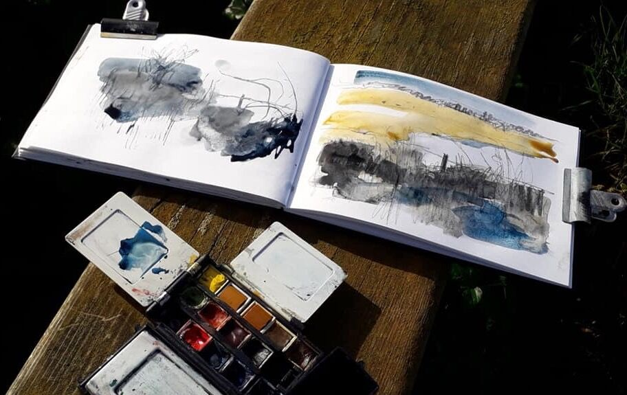 Sketchbook-by-Mari-French-artist