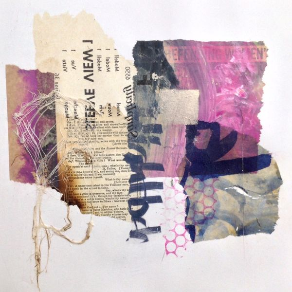Abstract-mixed-media-collage-for-sale