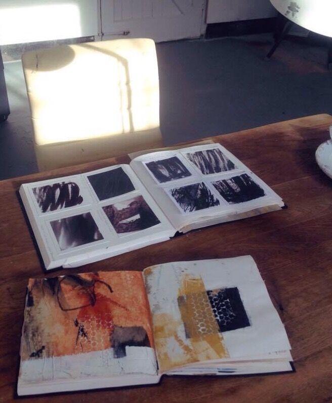 Studio-sketchbooks-by-Mari-French-artist