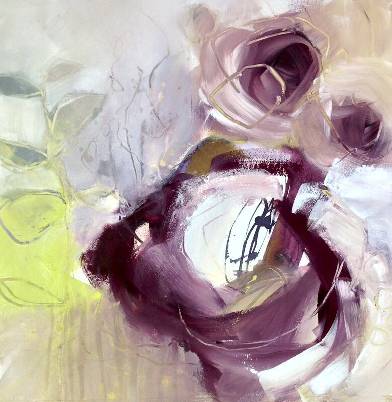 Abstract-garden-painting