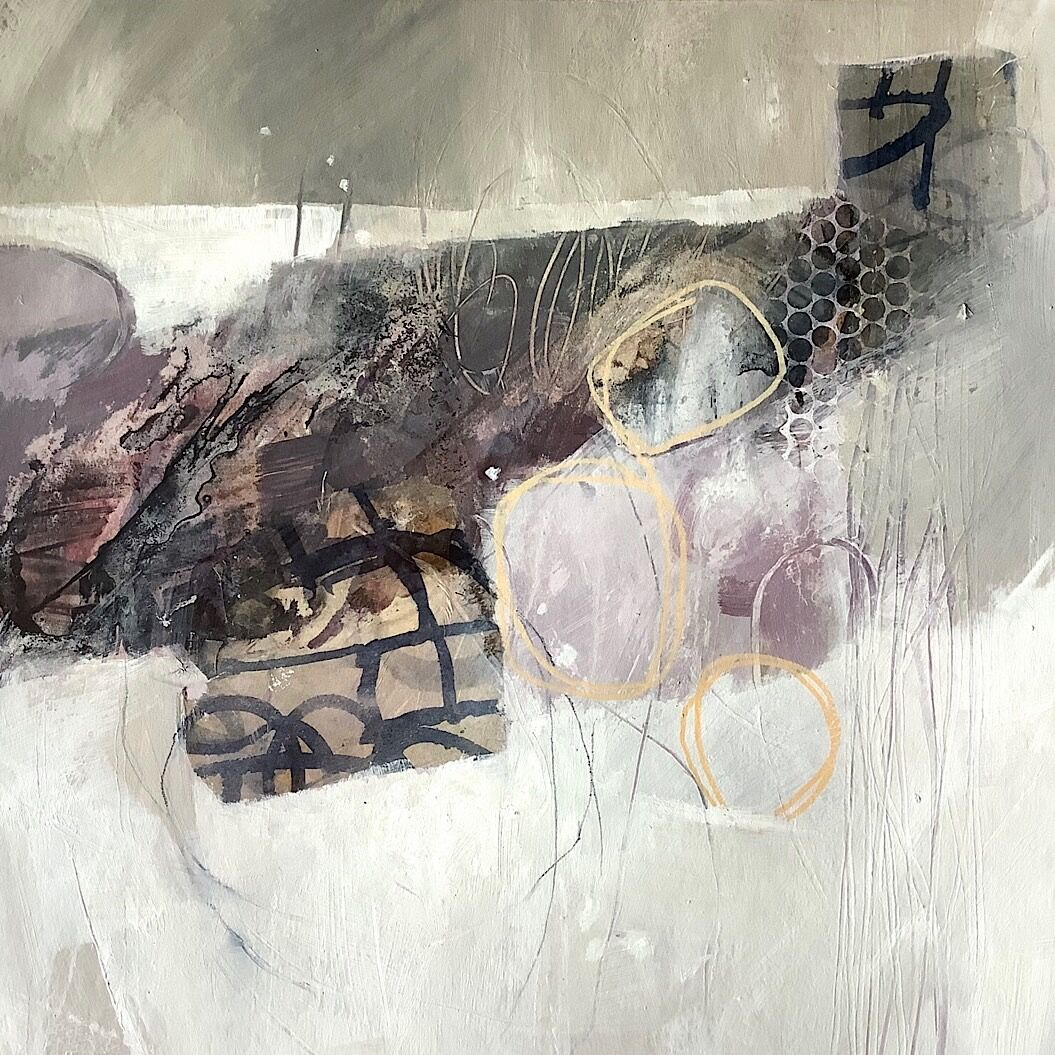 abstract-winter-landscape-mixedmedia-painting