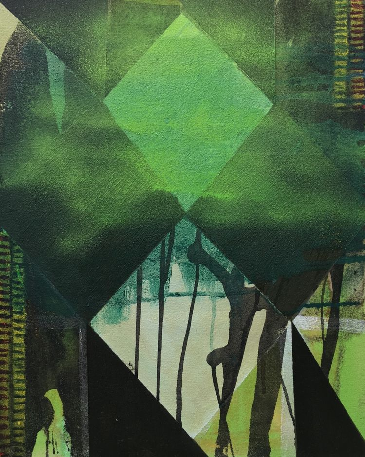 The Green One 1 40x50cm