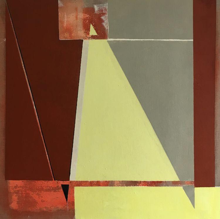 Three Triangles 85x85cm
