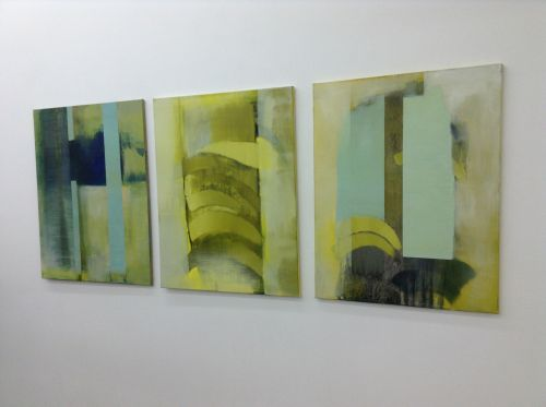 Sulphurous Triptych - Griffin Gallery