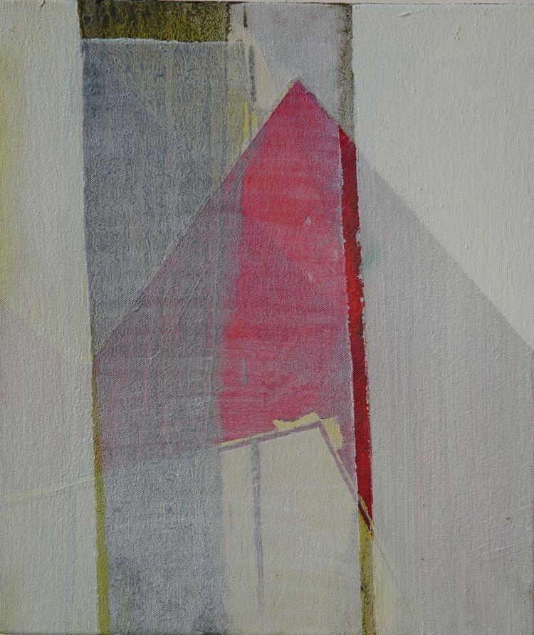 The Line 2. Triptych -31x36cm
