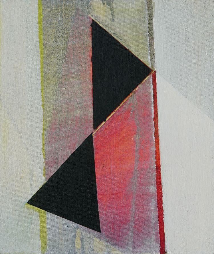 The Line 3- triptych -31x36cm