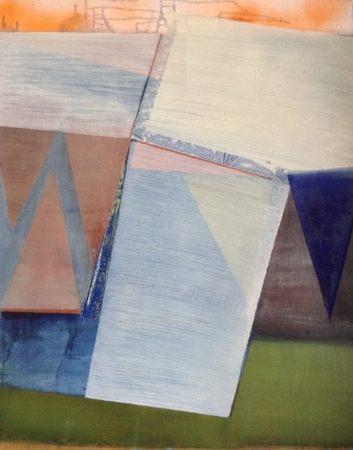 Hanging Triangles 1 76x61cm