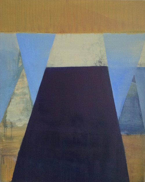 Hanging Triangles 2 76x61cm NA