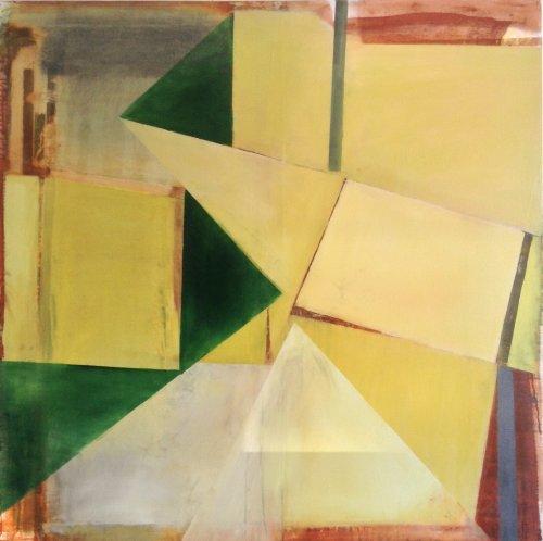Folding Green 122x122cm