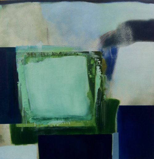 Green and Blue Zone Painting NA