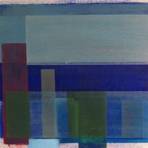 Blue Bar Chart 30x30cm