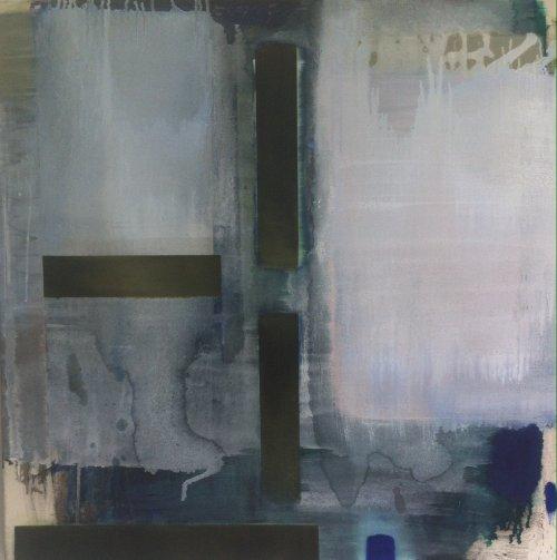 White Zone Painting 81x81cm