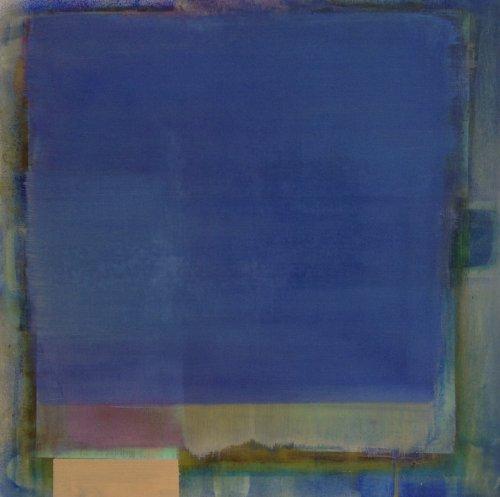 Blue square 50x50cm NA