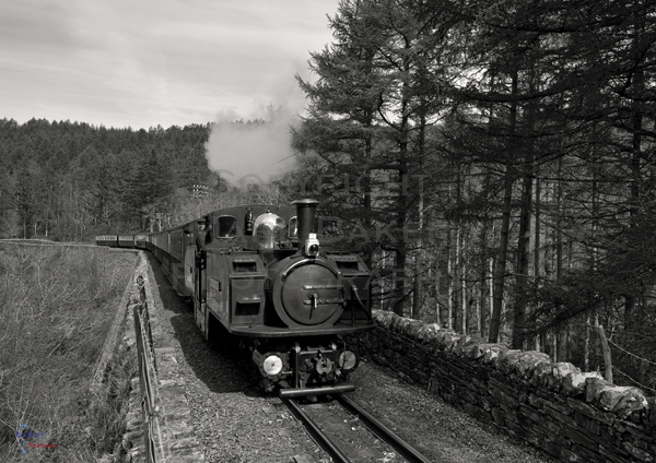 Earl of Merioneth crossing Cei Mawr.