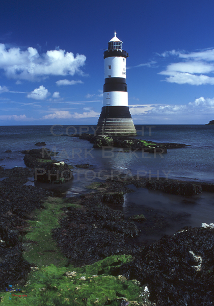 Lighthouse at Penmon Point.