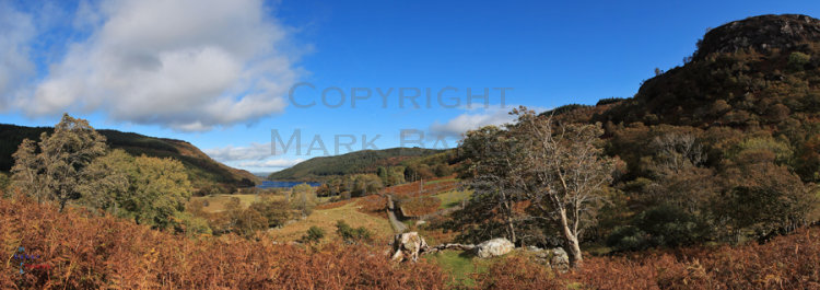Llyn Crafnant in Autumn.