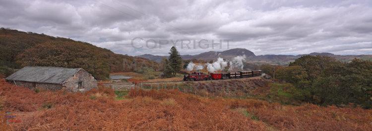 Merddin Emrys with Vintage Train.
