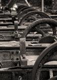 Slate saws.