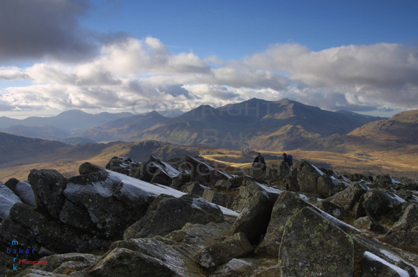 Snowdon from Siabod.