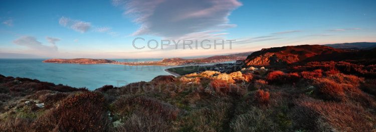 The Great Orme, Llandudno and Deganwy.