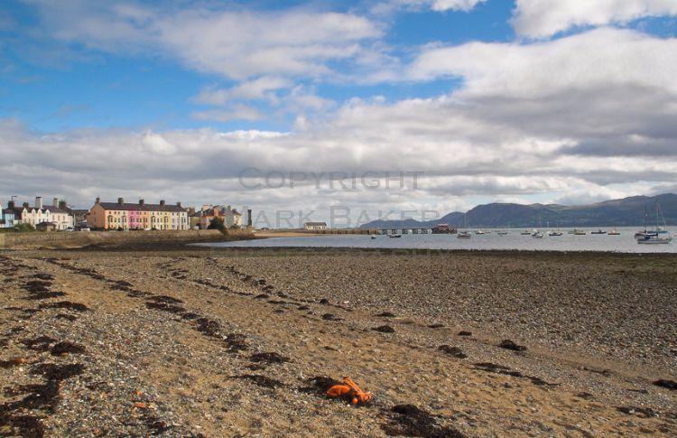 Beaumaris seafront.